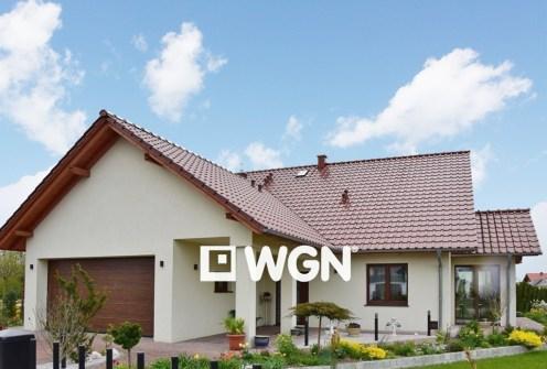 front luksusowej willi do sprzedaży w Bolesławcu