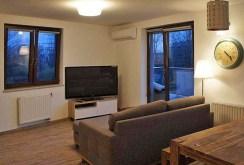 widok z innej perspektywy na luksusowy apartament do wynajmu w Krakowie