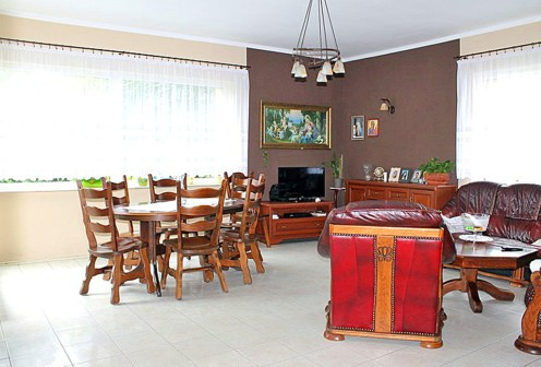 ekskluzywny salon w luksusowej willi do sprzedaży w Tczewie