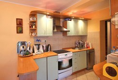 komfortowy aneks kuchenny w luksusowej willi do sprzedaży w okolicach Szczecina