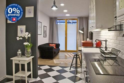 elitarny salon w ekskluzywnym apartamencie do sprzedaży w Krakowie