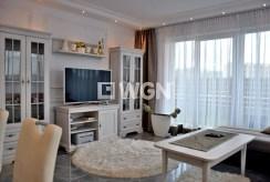 fragment salonu w luksusowym apartamencie w Słupsku na wynajem