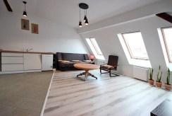 salon w luksusowym apartamencie do wynajmu w Szczecinie