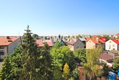 widok z okna na okolicę luksusowego apartamentu w Szczecinie na wynajem