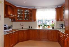 umeblowana kuchnia w luksusowej willi w Kwidzynie na sprzedaż
