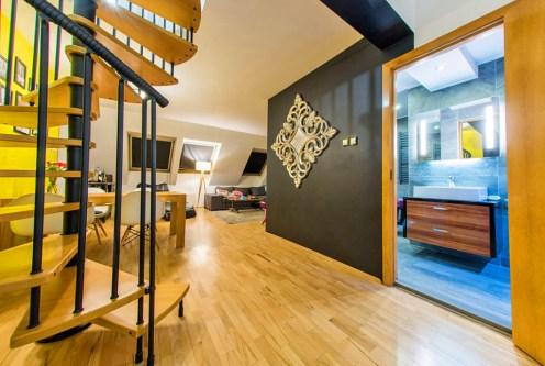 nowoczesne wnętrze ekskluzywnego apartamentu do sprzedaży w okolicach Katowic