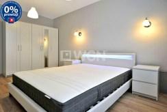 zaciszna, prywatna sypialnia w luksusowym apartamencie w Katowicach na wynajem
