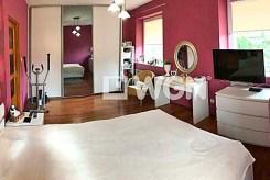 prywatna, elegancka sypialnia w luksusowej willi w Szczecinie na sprzedaż