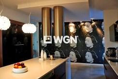 na zdjęciu nowoczesna kuchnia w luksusowej willi do sprzedaży w okolicach Szczecina