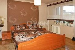 stylowa, elegancka sypialnia w luksusowym apartamencie w Częstochowie na sprzedaż