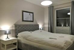 elegancka i prestiżowa sypialnia w luksusowym apartamencie w Szczecinie na wynajem