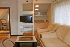 komfortowy salon w ekskluzywnej willi do sprzedaży w okolicach Zakopanego