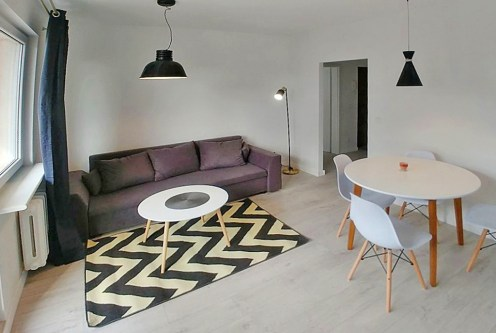 stylowe i zadbane wnętrze ekskluzywnego apartamentu do sprzedaży w Szczecinie