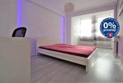 zaciszna, prywatna sypialnia w luksusowym apartamencie w Krakowie na sprzedaż