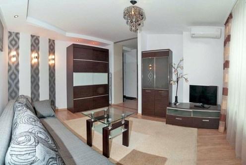 luksusowy salon w ekskluzywnym apartamencie do wynajęcia w Krakowie