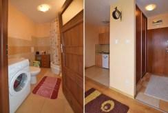 po lewej łazienka, po prawej przedpokój w luksusowym apartamencie w Białymstoku na sprzedaż