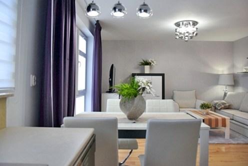 eleganckie wnętrze luksusowego apartamentu do wynajęcia w Słupsku
