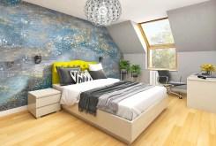 elegancka i nowoczesna sypialnia w luksusowej willi na Mazurach na sprzedaż