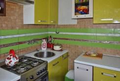 umeblowana i wyposażona kuchnia w luksusowym apartamencie do sprzedaży w Białymstoku