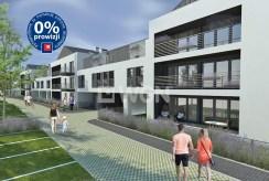 zdjęcie prezentuje fragment osiedla w Szczecinie, na którym mieści się oferowany na sprzedaż luksusowy apartament