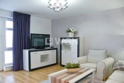 fragment nowoczesnego salonu w luksusowym apartamencie w Słupsku na wynajem
