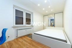 fragment eleganckiej sypialni w luksusowym apartamencie w Tarnowie na wynajem