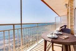 taras przy luksusowym apartamencie do sprzedaży w Hiszpanii (Costa Blanca, Torrevieja)