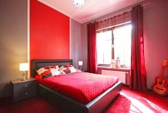 prywatna, zaciszna sypialnia w luksusowym apartamencie w Szczecinie na wynajem
