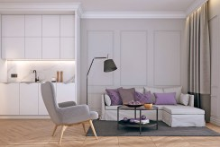 fragment jednego z pokoi w luksusowym apartamencie Świnoujście do sprzedaży