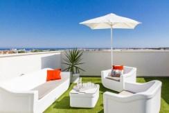 widokowy, przestronny taras przy luksusowym apartamencie do sprzedaży Hiszpania (Costa Blanca, Orihuela Costa)