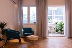 fragment komfortowego salonu w luksusowym apartamencie na sprzedaż Katowice