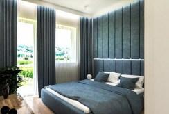 zaciszna, prywatna sypialnia w luksusowym apartamencie do sprzedaży Kraków