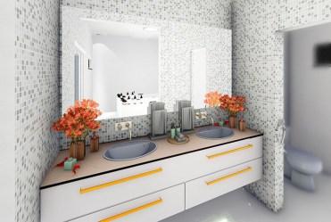 prywatna łazienka w luksusowym apartamencie na sprzedaż Wisła