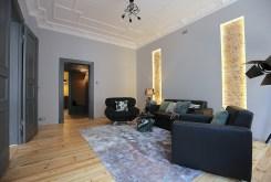 prestiżowy salon w ekskluzywnym apartamencie do wynajmu Szczecin