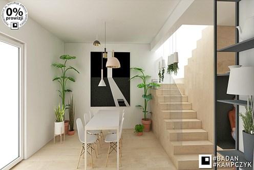nowoczesny design salonu w ekskluzywnej willi do sprzedaży Katowice (okolice)