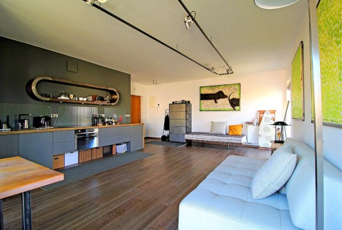przestronne wnętrze ekskluzywnego apartamentu do sprzedaży Kraków