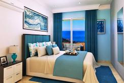 prywatna, zaciszna, elegancka sypialnia w luksusowym apartamencie do sprzedaży Turcja Cypr (Esentepe)
