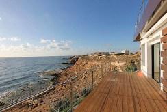 widok na morze z tarasu przy ekskluzywnej willi na sprzedaż Costa Blanca (Hiszpania)