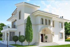 reprezentacyjne wejście do luksusowej rezydencji na sprzedaż Turcja (Esentepe)