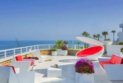 zapierający dech w piersiach widok z luksusowego apartamentu na sprzedaż Hiszpania (Costa del Sol)