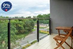 widokowy taras/balkon w ekskluzywnym apartamencie do sprzedaży Bolesławiec