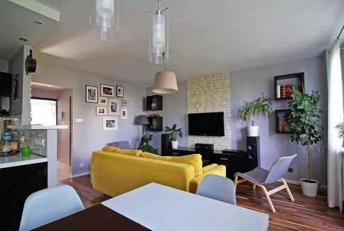 prestiżowy salon w ekskluzywnym apartamencie do sprzedaży Kraków