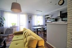 fragment komfortowego wnętrza ekskluzywnego apartamentu do sprzedaży Kraków