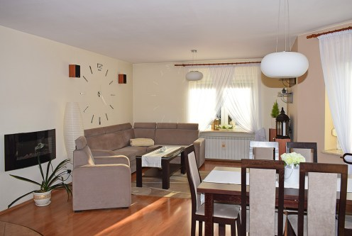 komfortowy salon w ekskluzywnej willi do sprzedaży Ostrów Wielkopolski