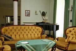 prestiżowy salon z fortepianem w luksusowym dworze na sprzedaż Piotrków Trybunalski (okolice)