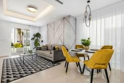 fragment komfortowego wnętrza luksusowej willi na sprzedaż Hiszpania (Ciudad Quesad)