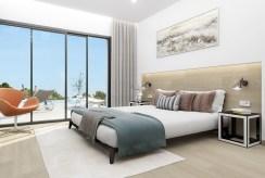 elegancka i wytworna sypialnia w luksusowej willi do sprzedaży Hiszpania (Montesino)