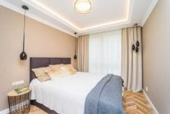 zaciszna, prywatna sypialnia w luksusowym apartamencie do sprzedaży Gdańsk