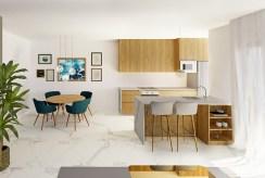 przestronne wnętrze ekskluzywnego apartamentu na sprzedaż Guardamar De Segur (Hiszpania)