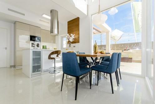 nowoczesne wnętrze luksusowej willi do sprzedaży Hiszpania (Ciudad Quesad)